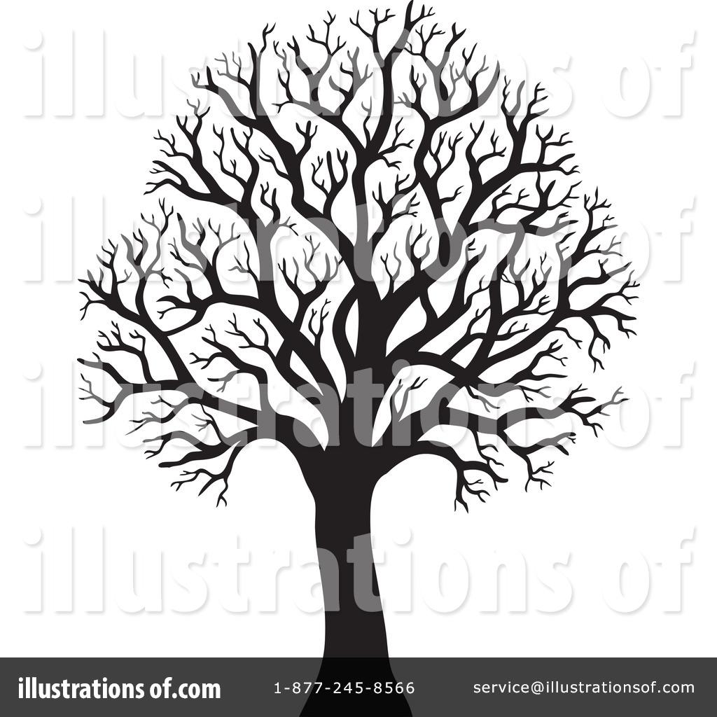 Bare Tree Clipart 1050745 Illustration By Visekart