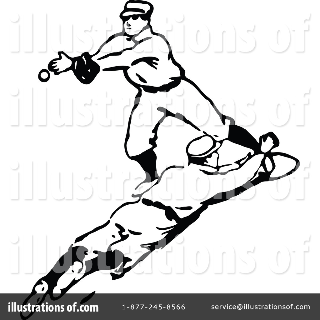 Royalty Free RF Baseball Clipart Illustration 1121085 By Prawny Vintage