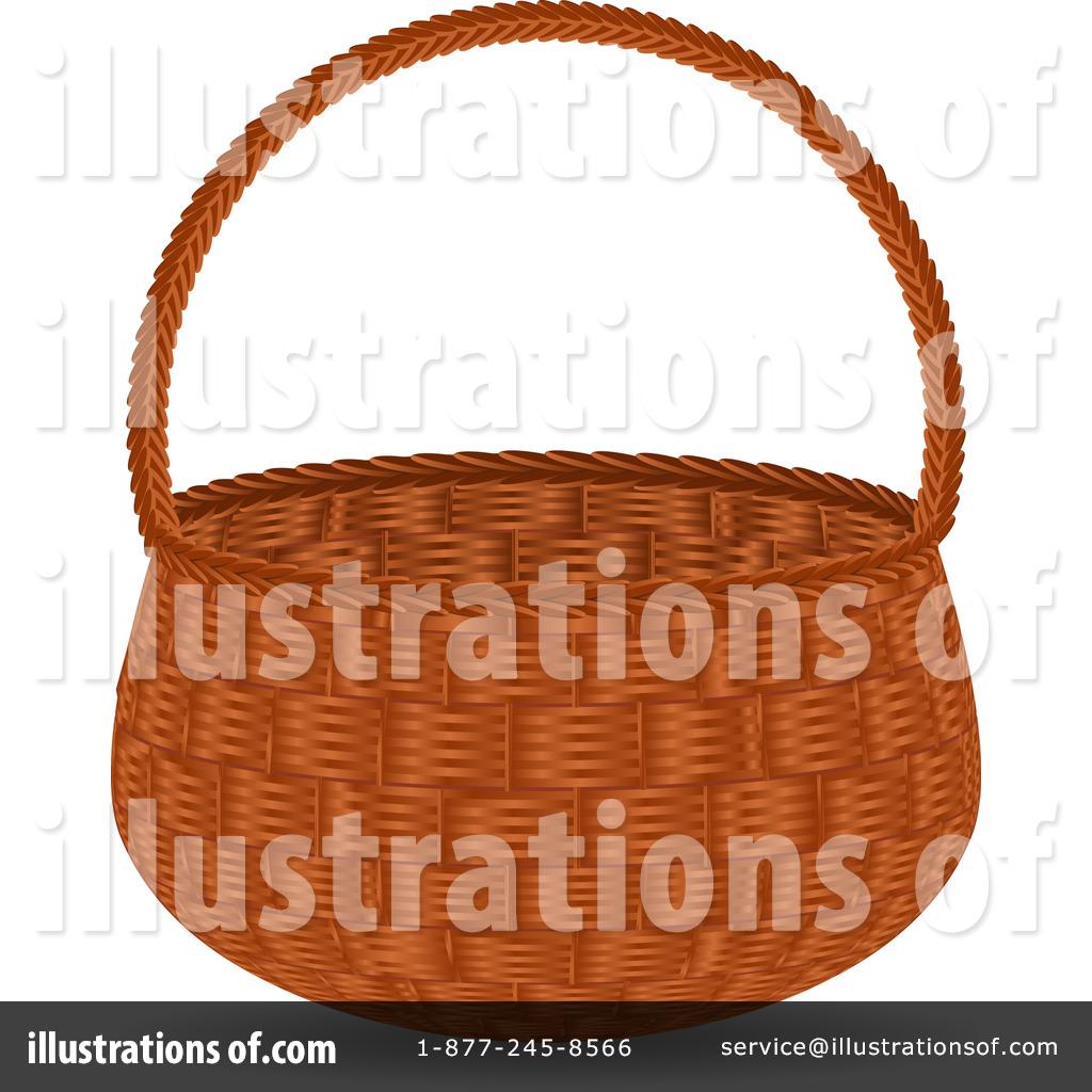 Basket Clipart #63824 - Illustration by elaineitalia