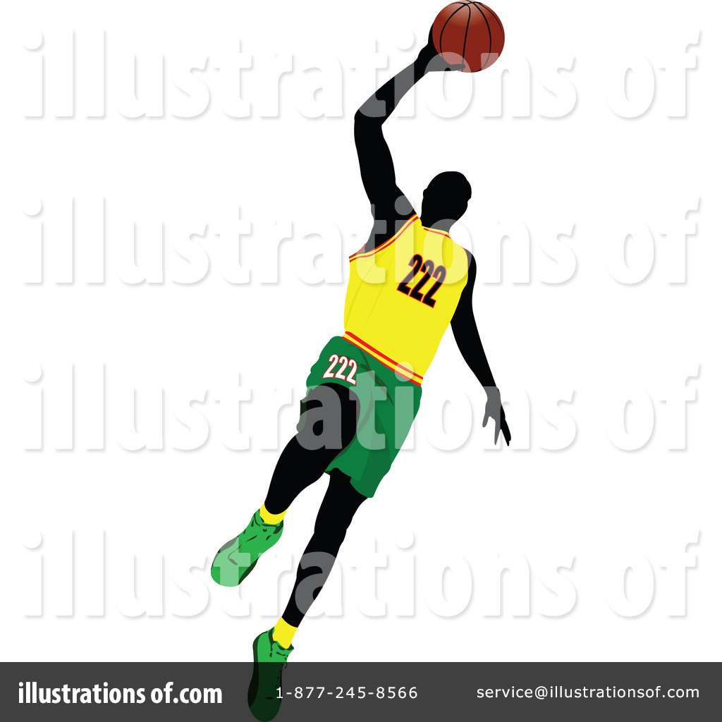 basketball clipart 1094211 illustration by leonid