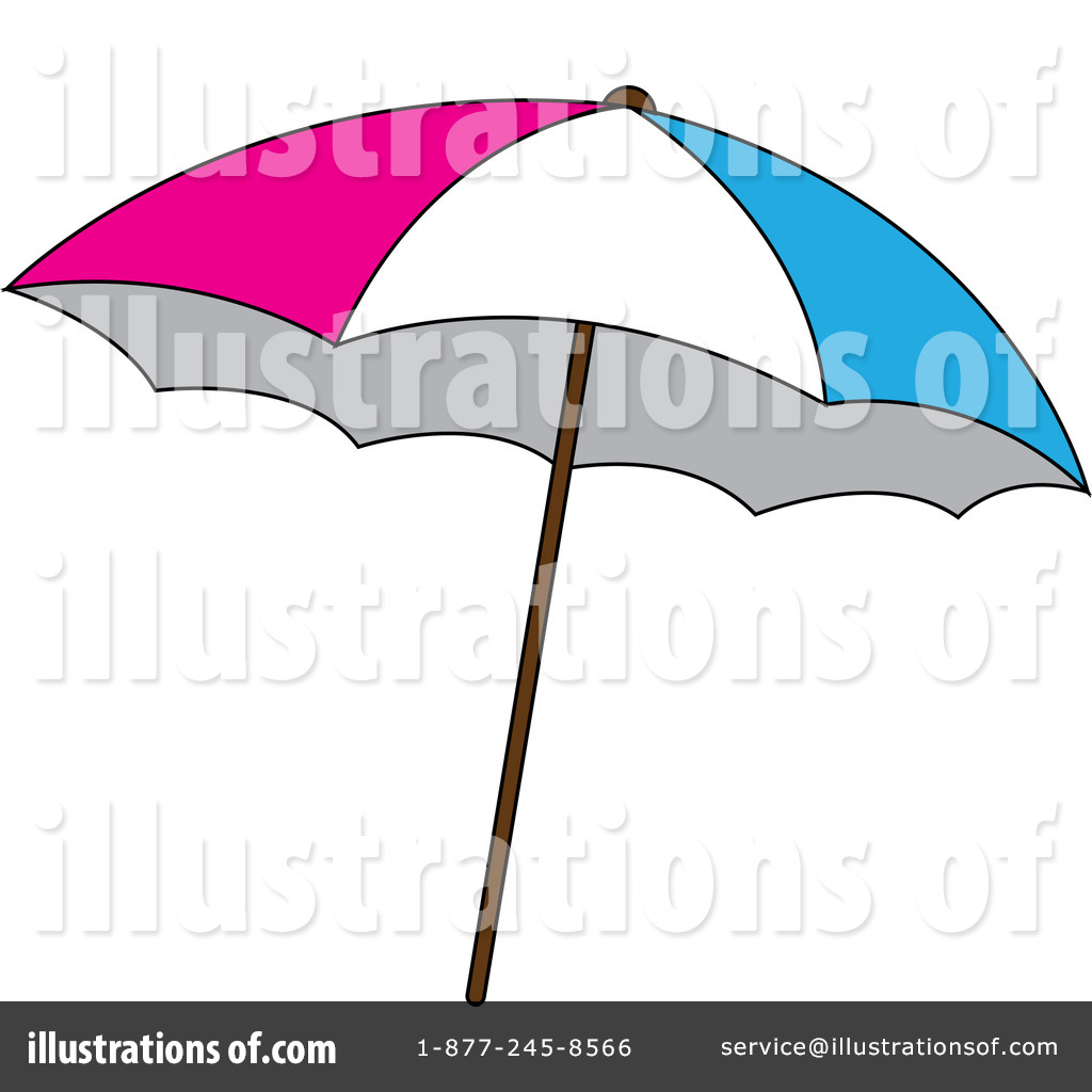 beach umbrella clipart #433799 - illustrationpams clipart