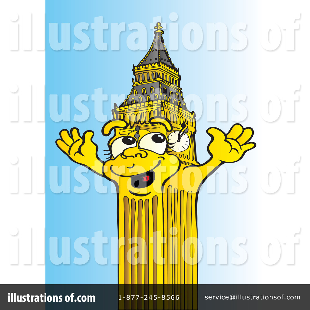 Big Ben Clipart #79702 - Illustration by Snowy