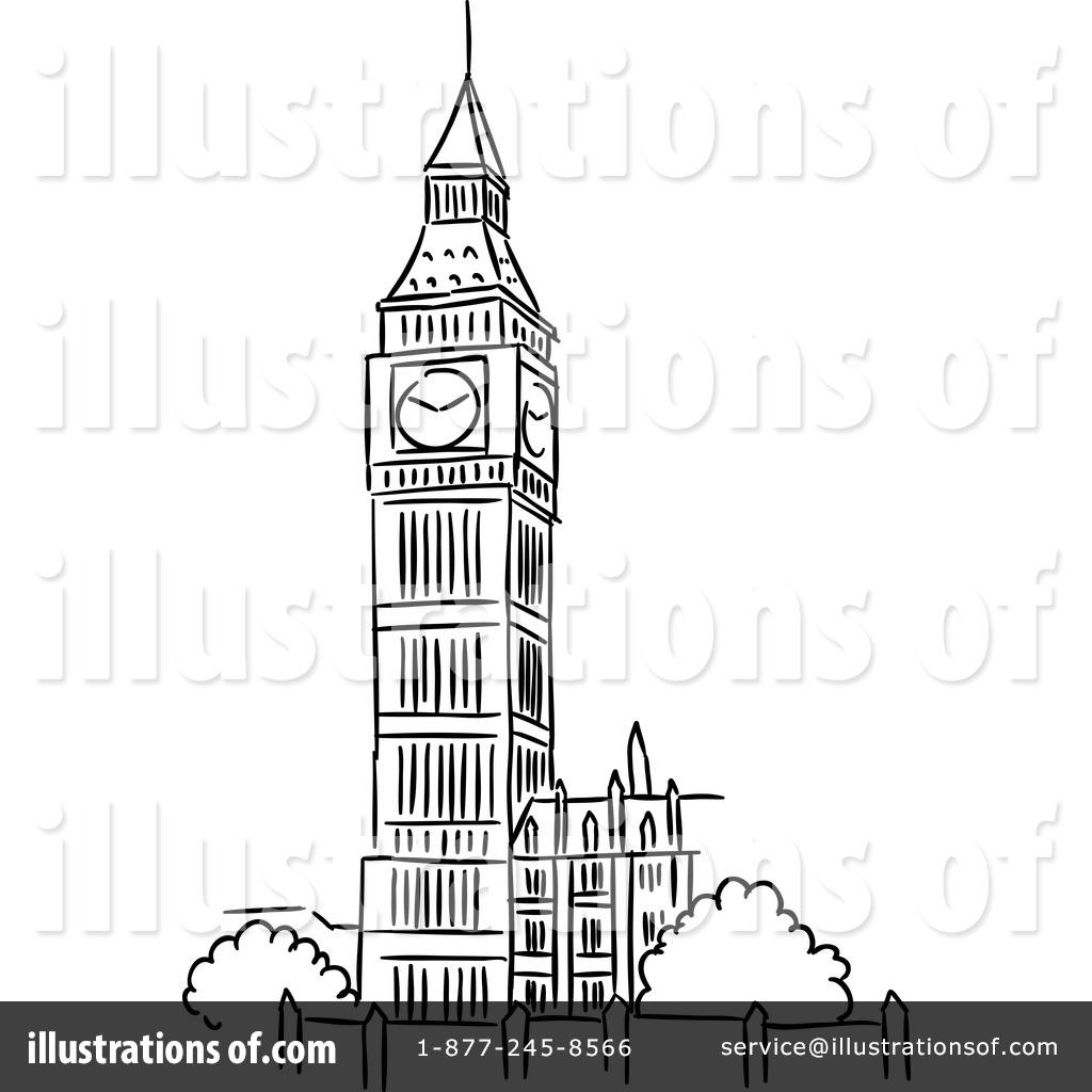 big ben clipart 1217425 illustration by vector tradition sm rh illustrationsof com big ben clock clip art big ben free clip art