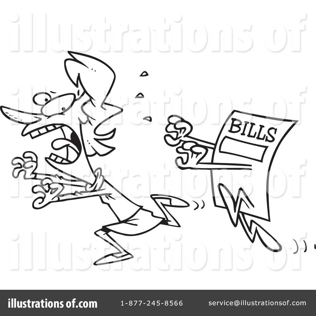 Bill Clipart #440859 - Illustration by Ron Leishman