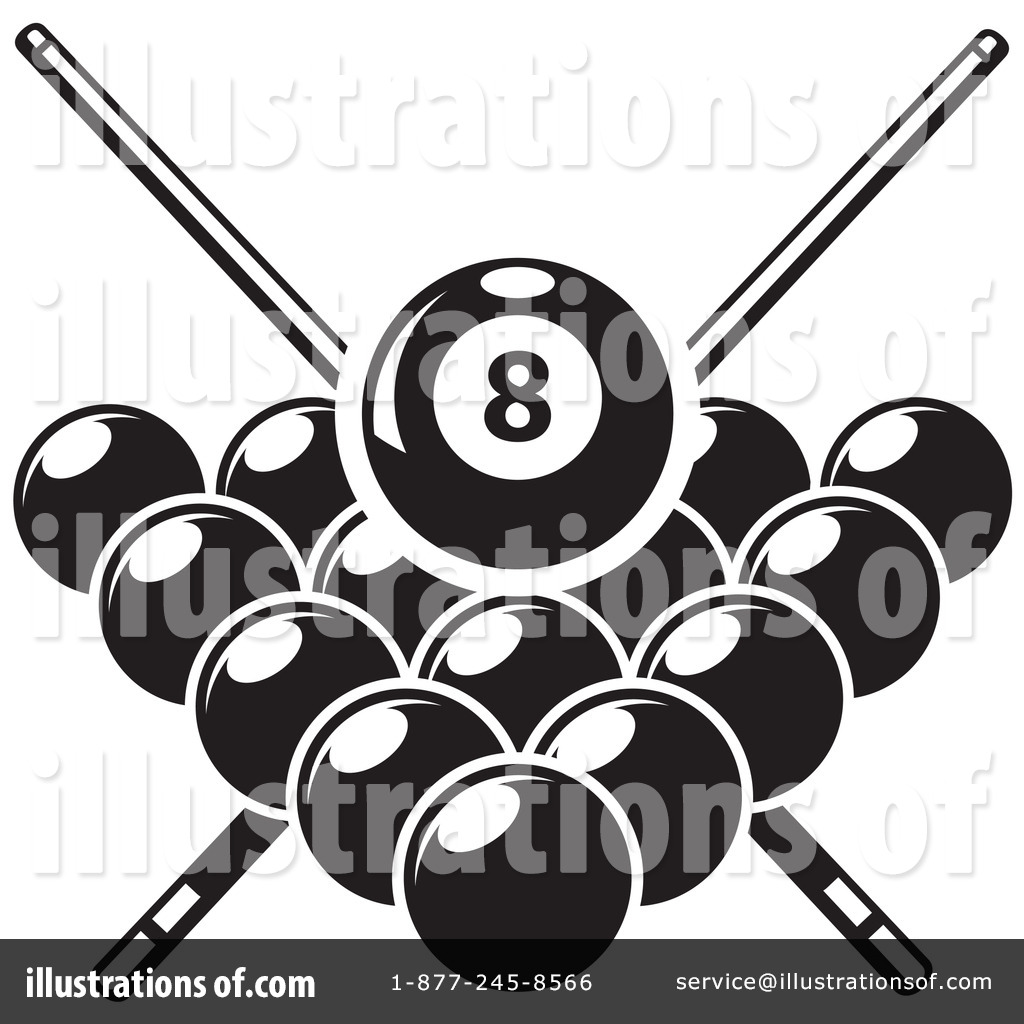 billiards clipart 1265967 illustration by vector tradition sm rh illustrationsof com free billiards clipart images pool billiards clipart