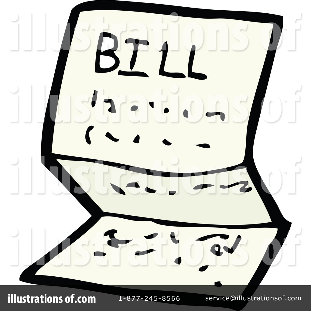 Bills Clipart - Synkee