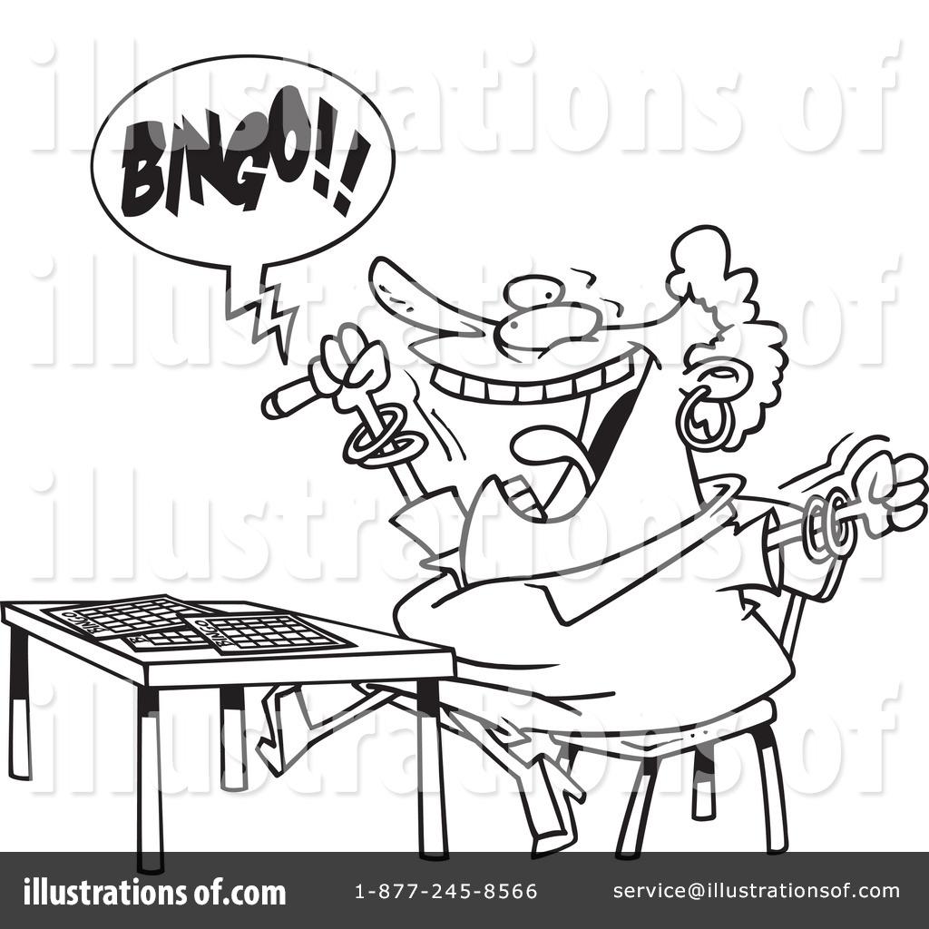 Bingo Clipart #440865 - Illustration by Ron Leishman
