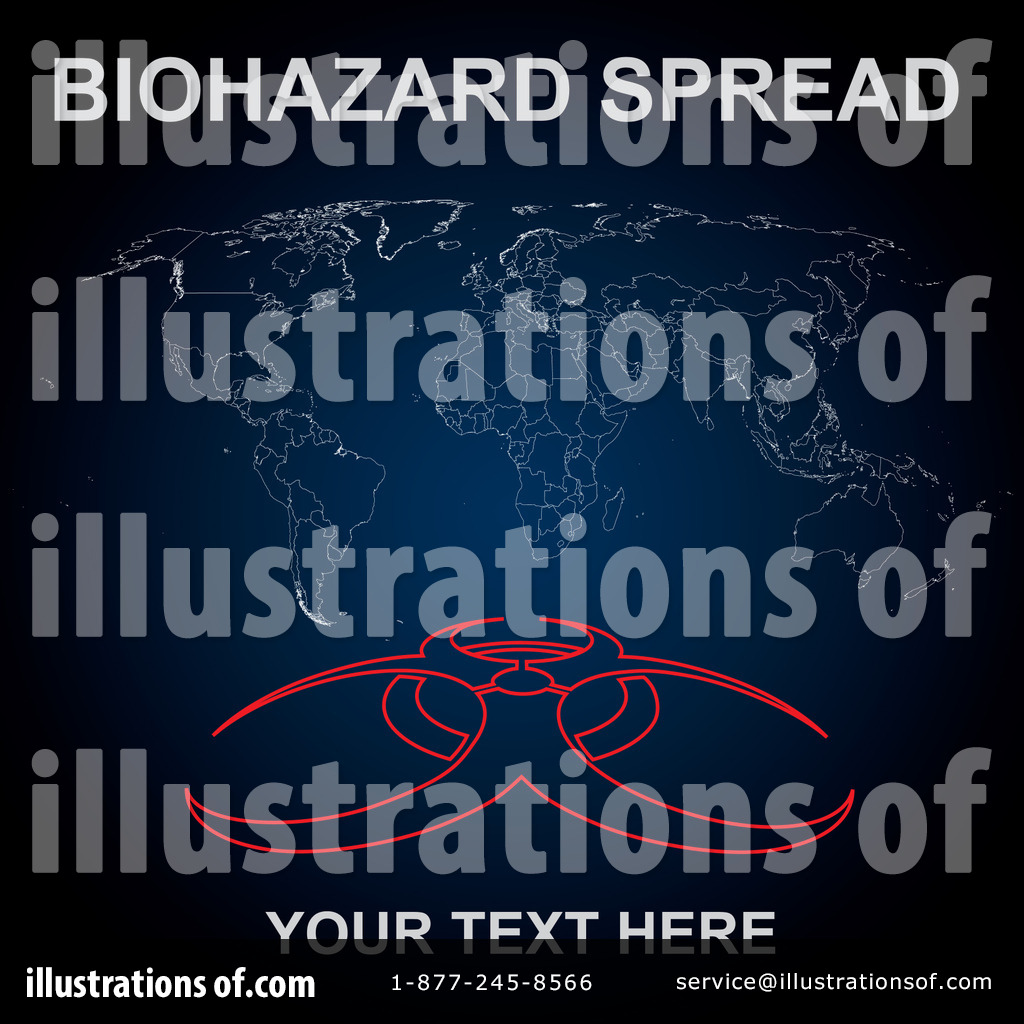 Biohazard Clipart #58476 - Illustration by MilsiArt