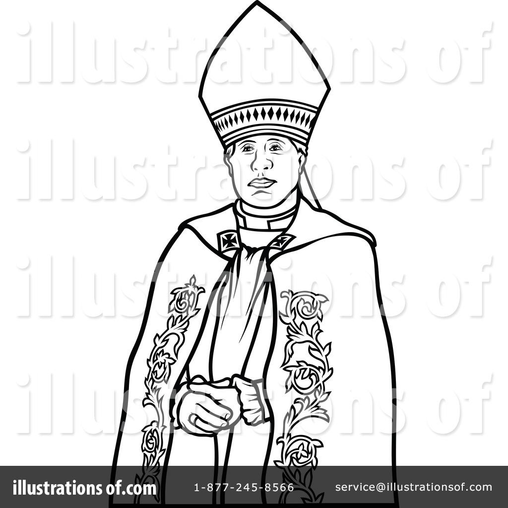 Bishop Clipart 1297720 Illustration by dero