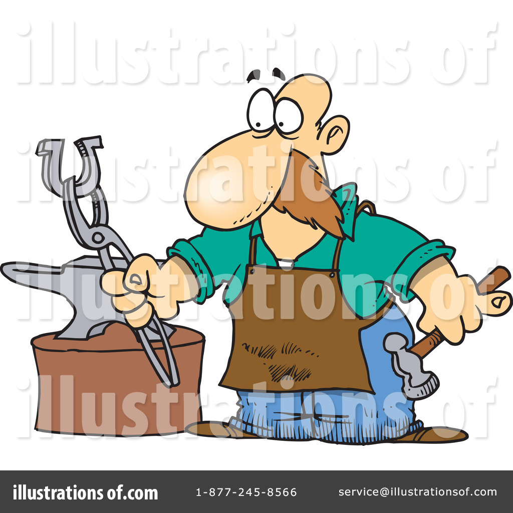 blacksmith clipart 433546 illustration by toonaday rh illustrationsof com blacksmith clipart blacksmith tools clipart