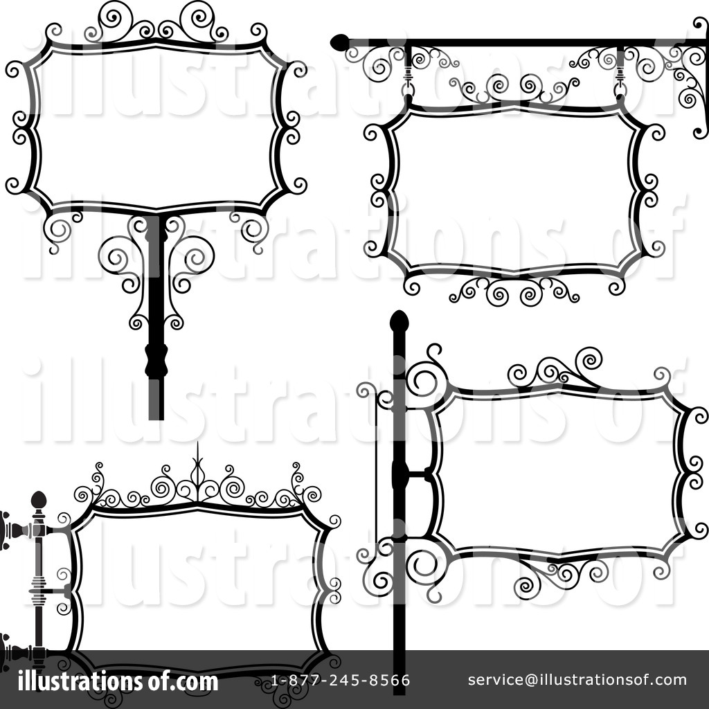 blank sign clipart 89393 illustration by frisko rh illustrationsof com blank caution sign clipart blank interstate sign clipart
