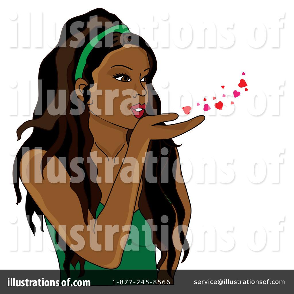 Blowing Kisses Clipart 87587 Illustration By Pams Clipart