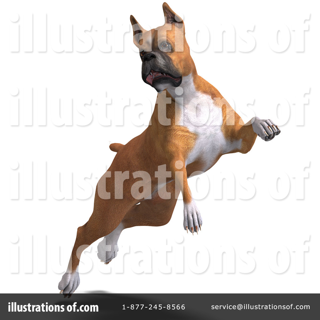 Boxer Dog Clipart #1071181 - Illustration by Ralf61