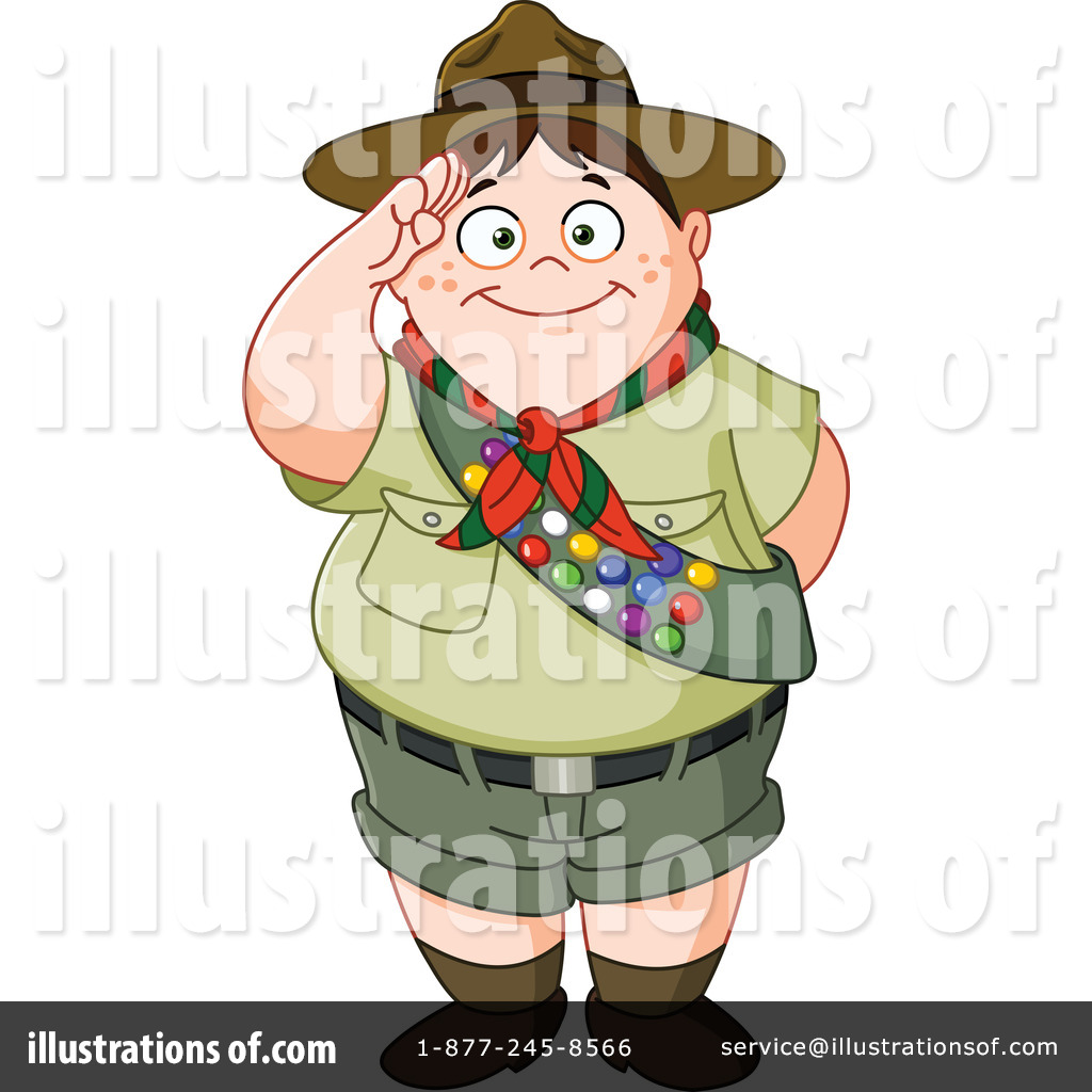 Boy Scout Clipart #1181471 - Illustration by yayayoyo