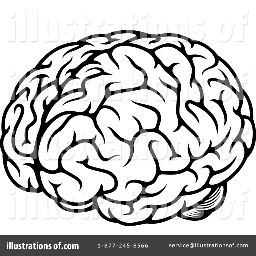brain clipart 1214810 illustration by vector tradition sm rh illustrationsof com clipart of brainstorming clipart of brain thinking