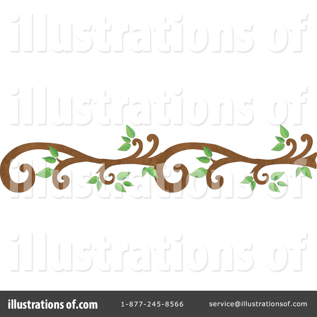 Branch Clipart #1114633 - Illustration by Gina Jane