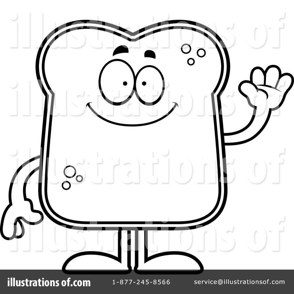 Royalty Free RF Bread Clipart Illustration 1127424 By Cory Thoman