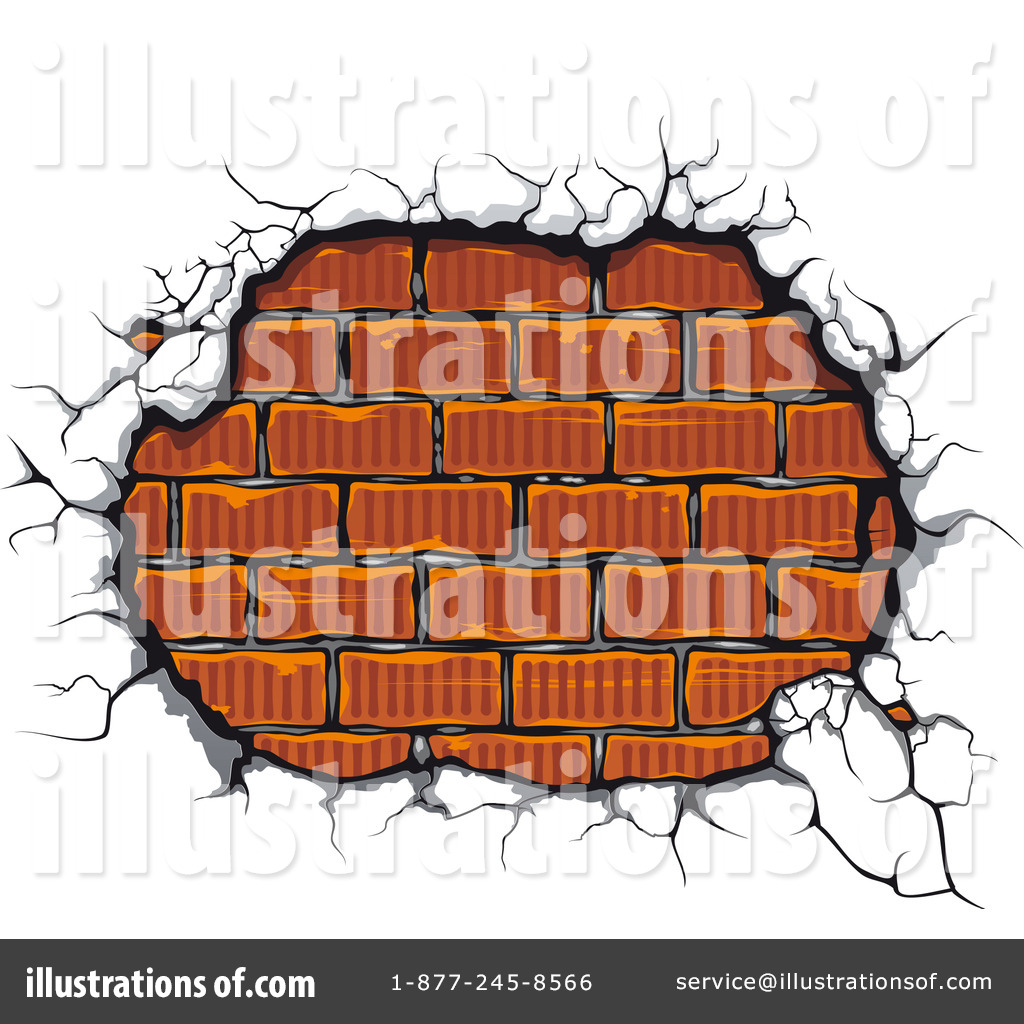 Brick Clipart #1096129 - Illustration by Vector Tradition SM