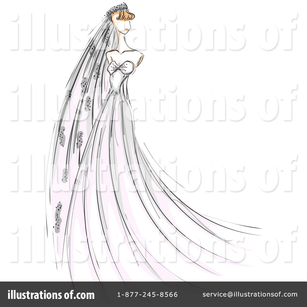Bride Clipart #212122 - Illustration by BNP Design Studio