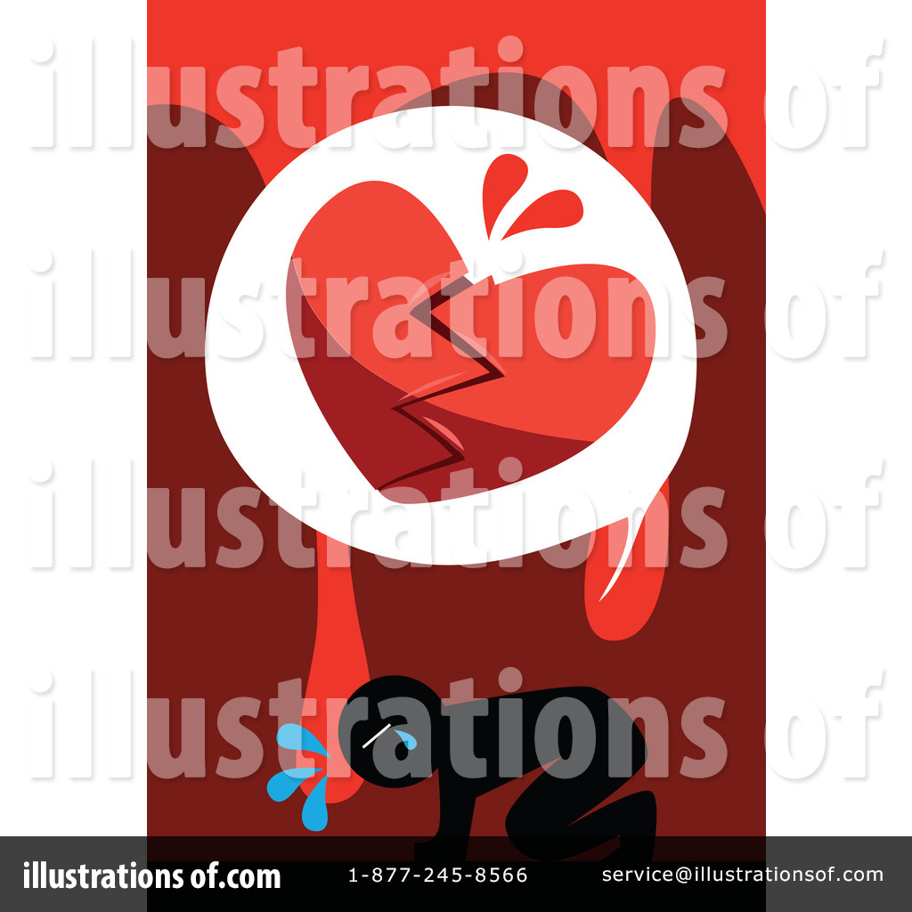 Broken Heart Clipart #86213 - Illustration by mayawizard101