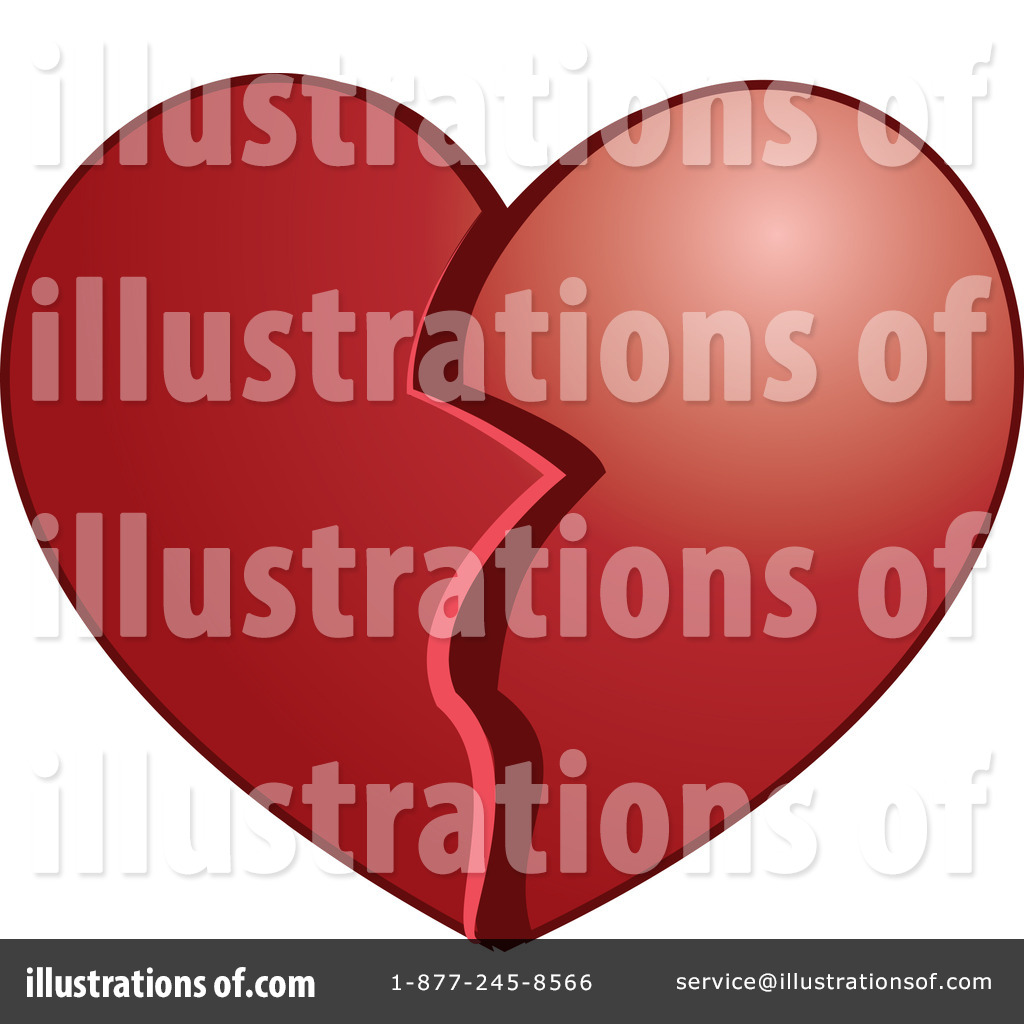 Broken Heart Clipart #440403 - Illustration by Vitmary Rodriguez