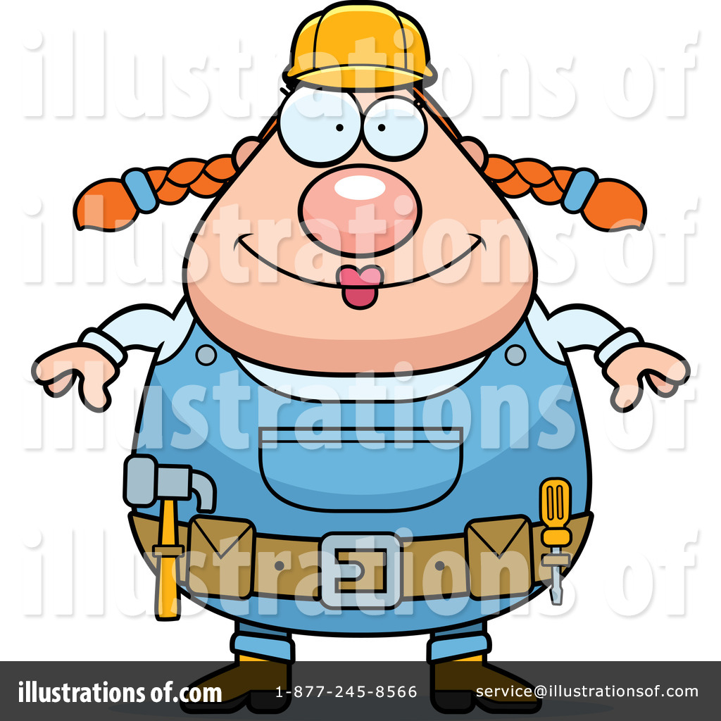 Builder Clipart #438229 - Illustration by Cory Thoman