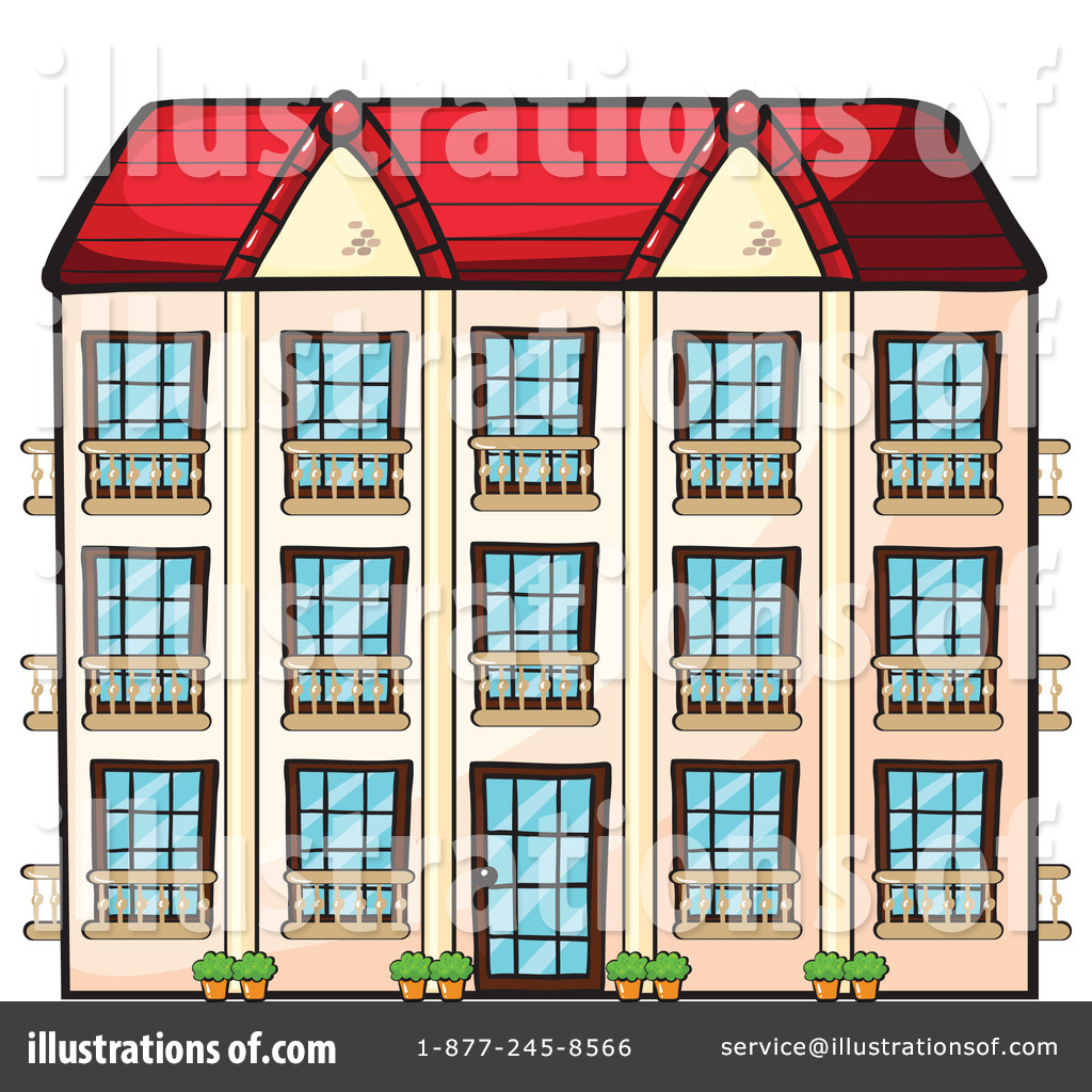 Apartment Clip Art: Illustration By Graphics RF