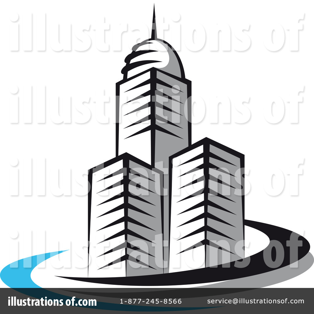 Buildings Clipart #1060998 - Illustration by Vector Tradition SM