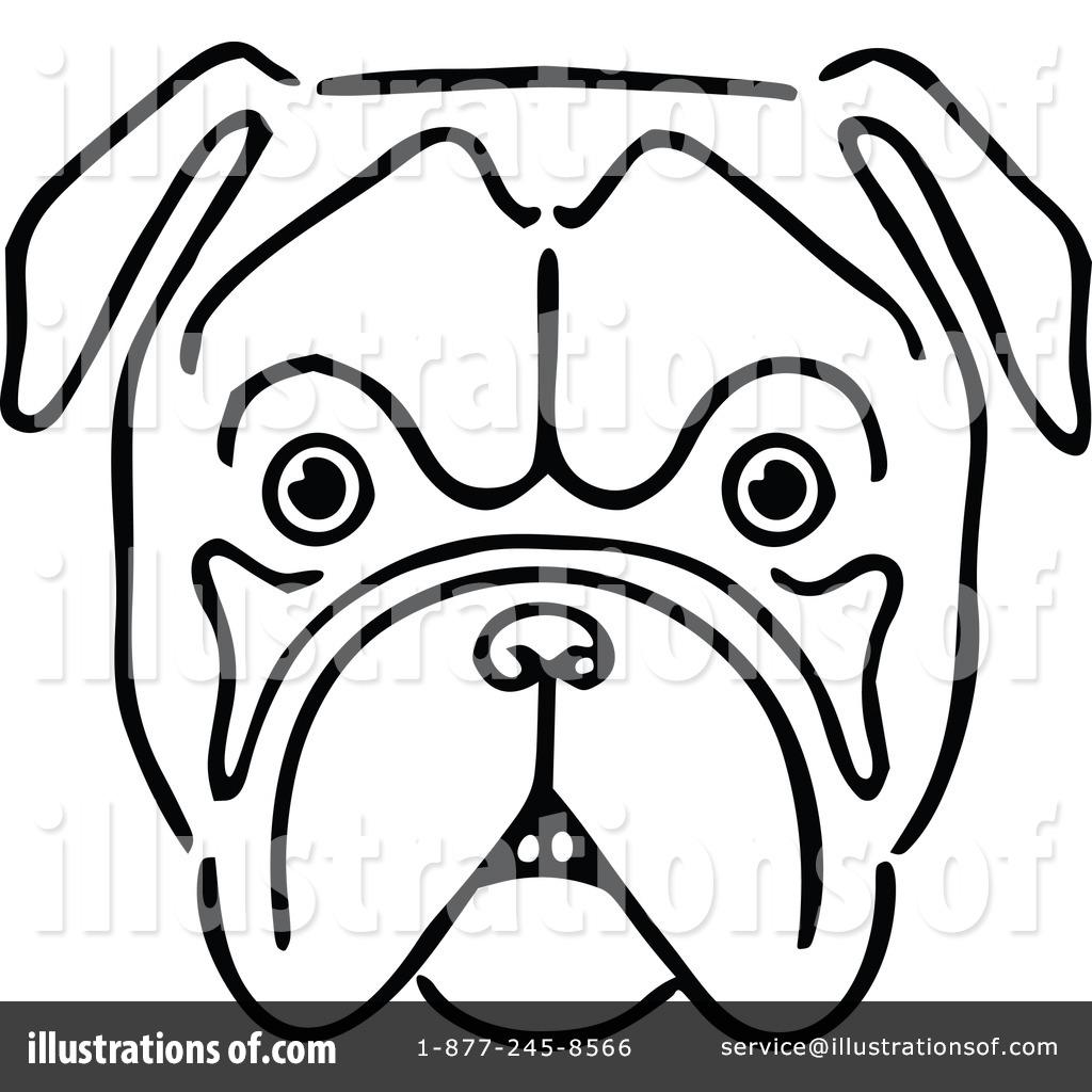 Bulldog Clipart 1113671 Illustration By Prawny Vintage