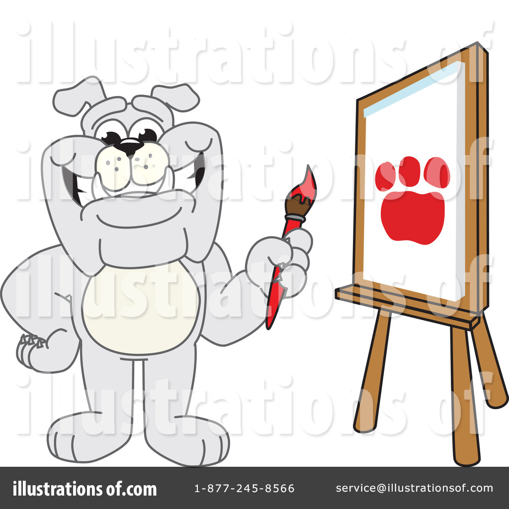 Bulldog Mascot Clipart 225726 Illustration By Toons4biz