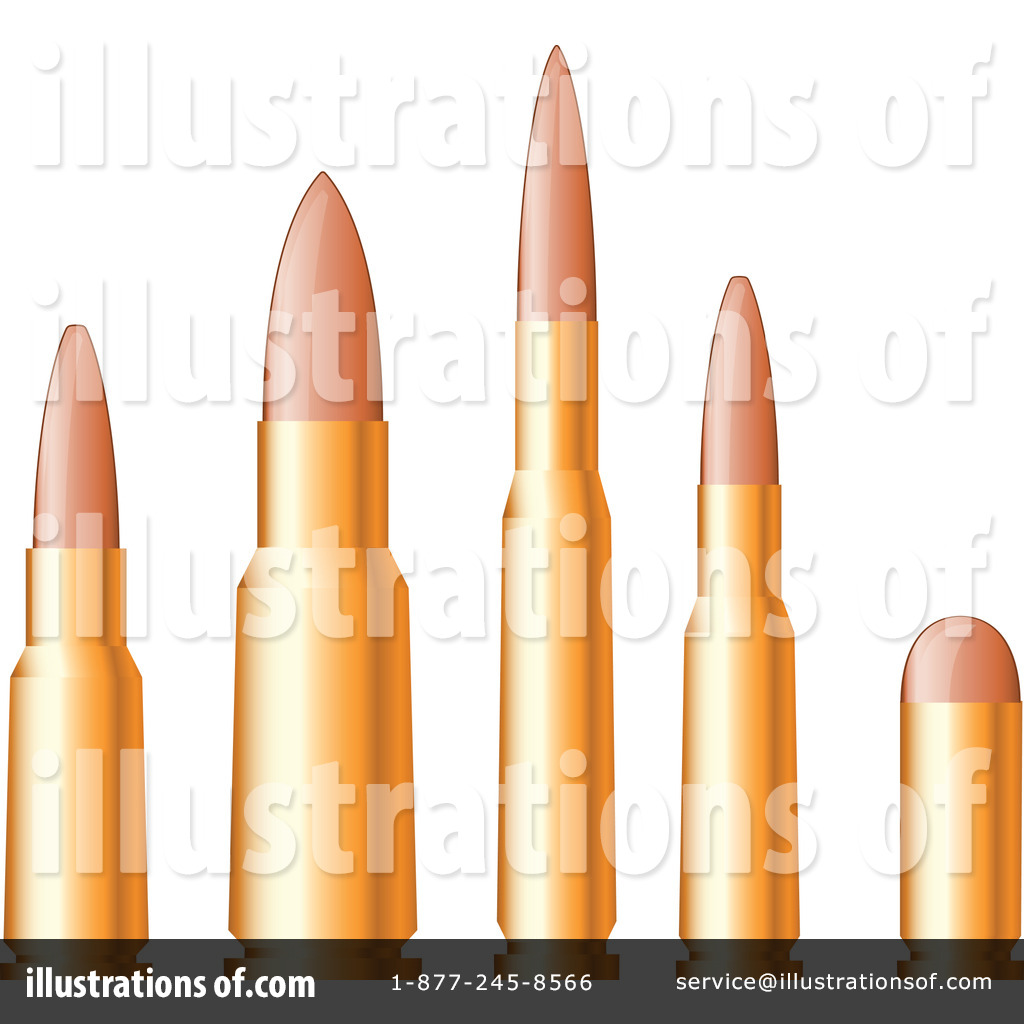 Bullets Clipart #1154526 - Illustration by Vector Tradition SM