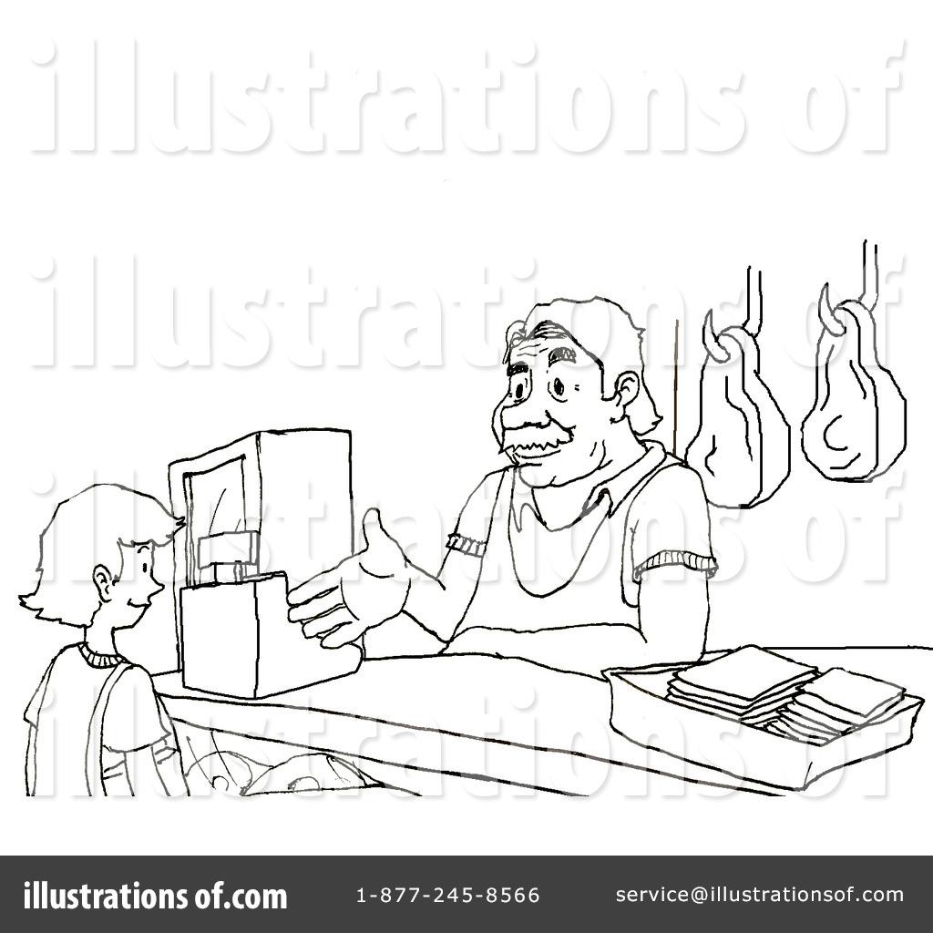 Butcher Clipart 72117 Illustration By Platyplus Art