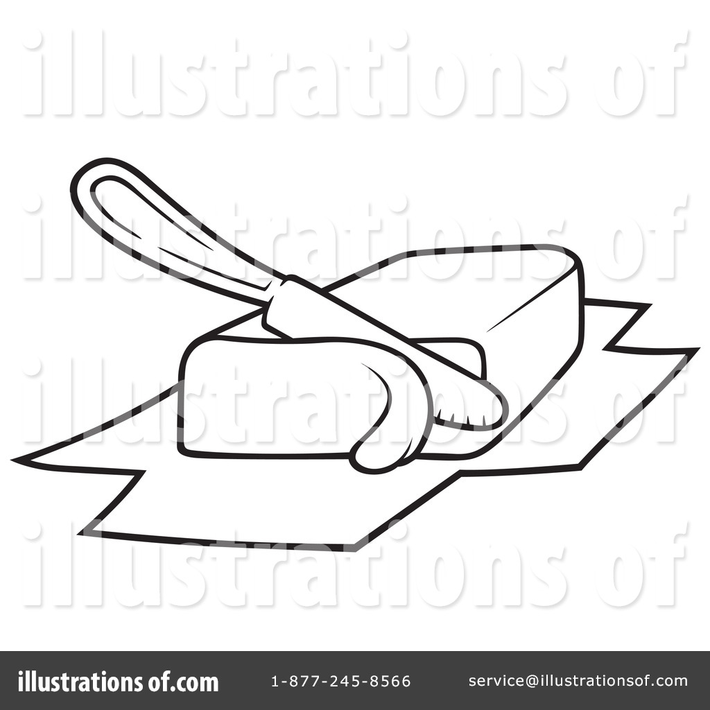 Butter Clipart #1051415 - Illustration by dero