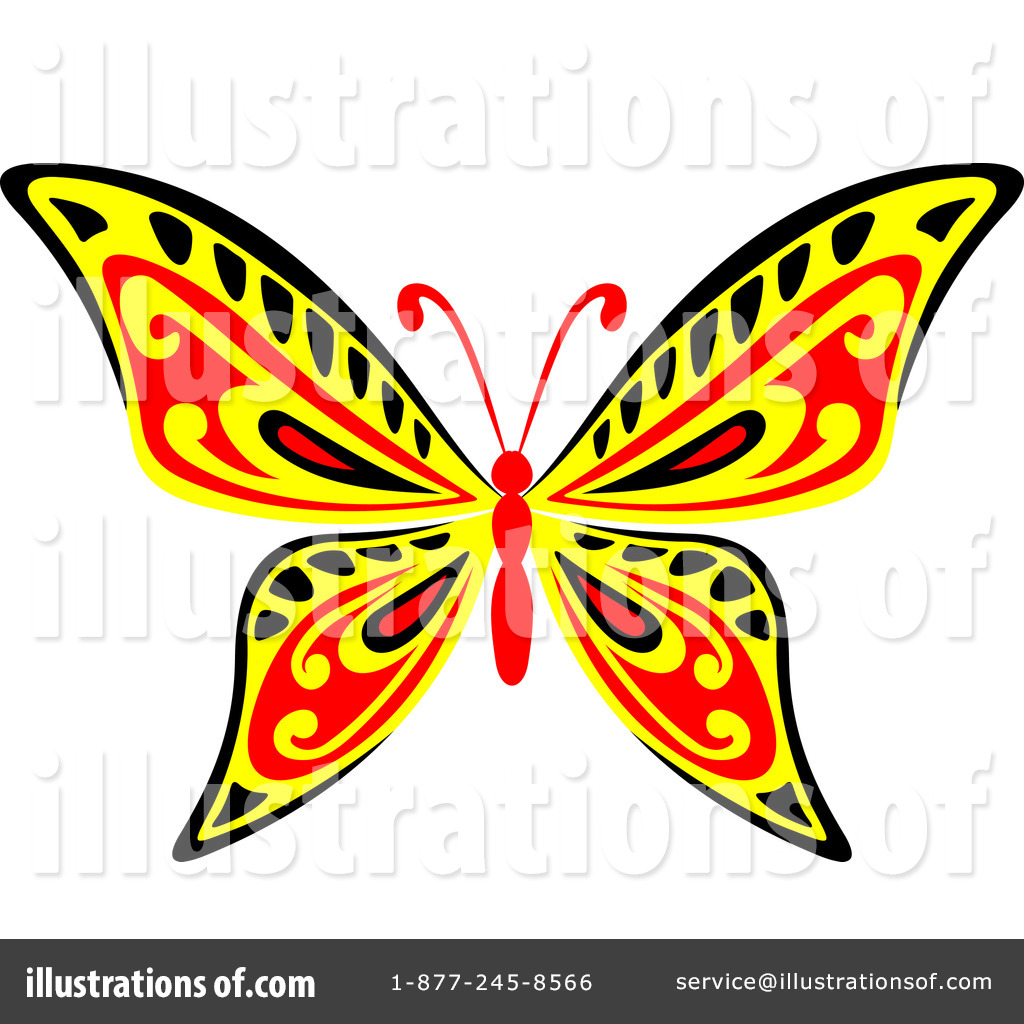 butterfly clipart 1122887 illustration by vector tradition sm
