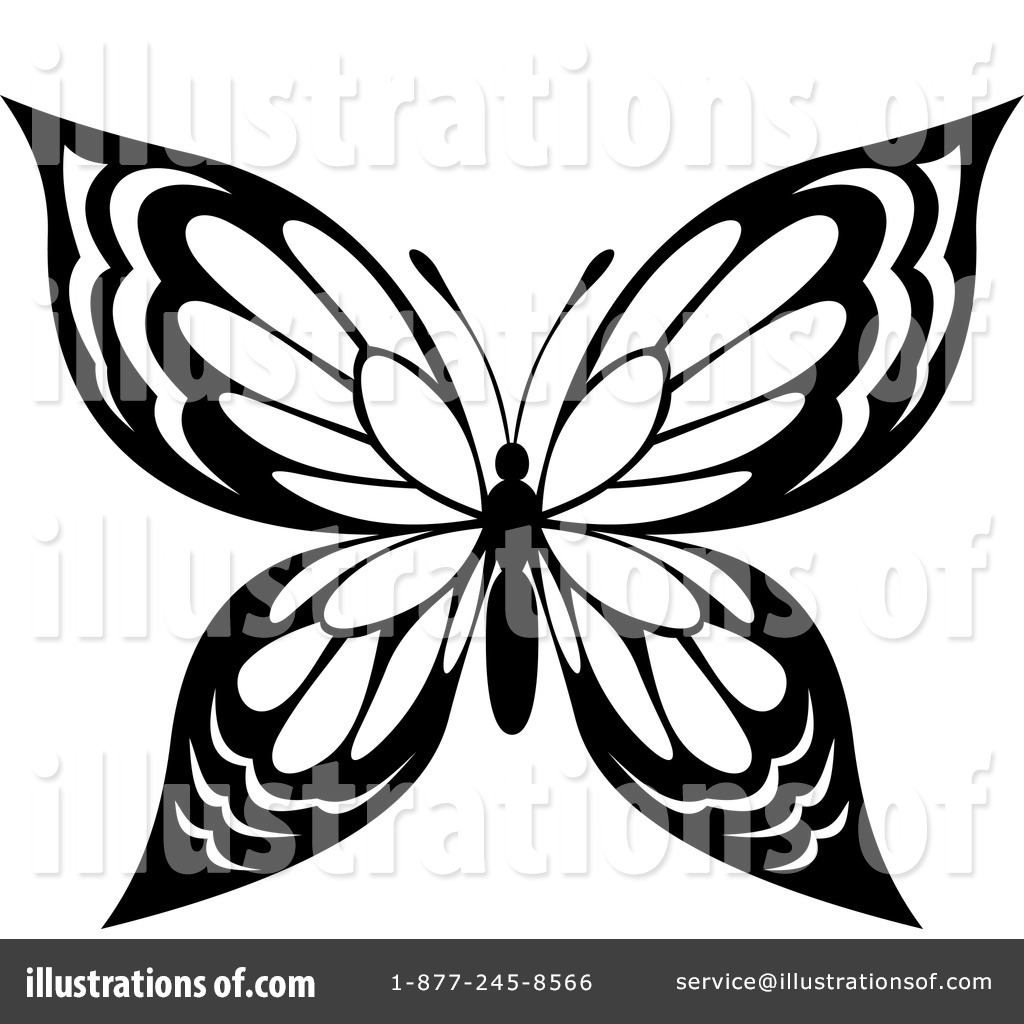 butterfly clipart 1124862 illustration by vector tradition sm
