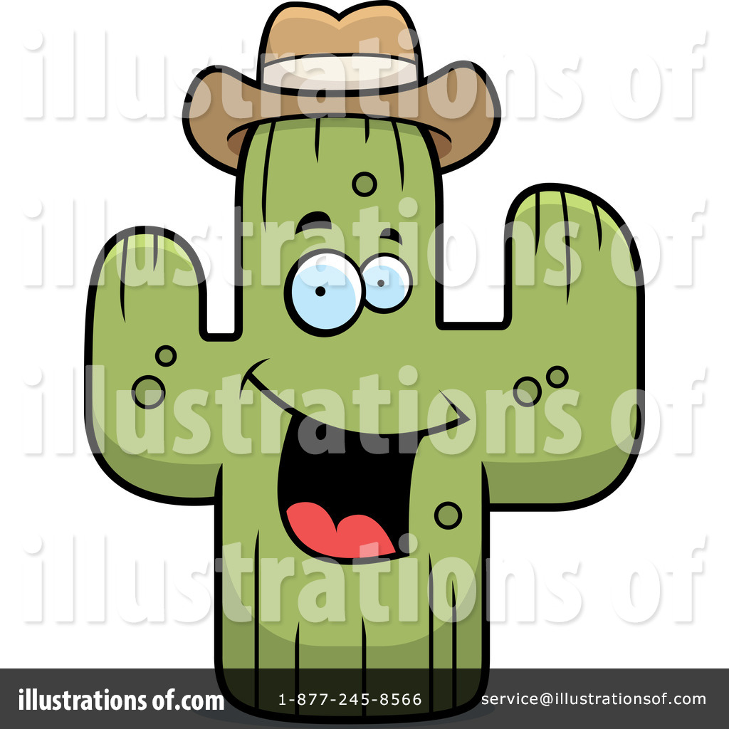 Cactus Clipart #1227308 - Illustration by lineartestpilot