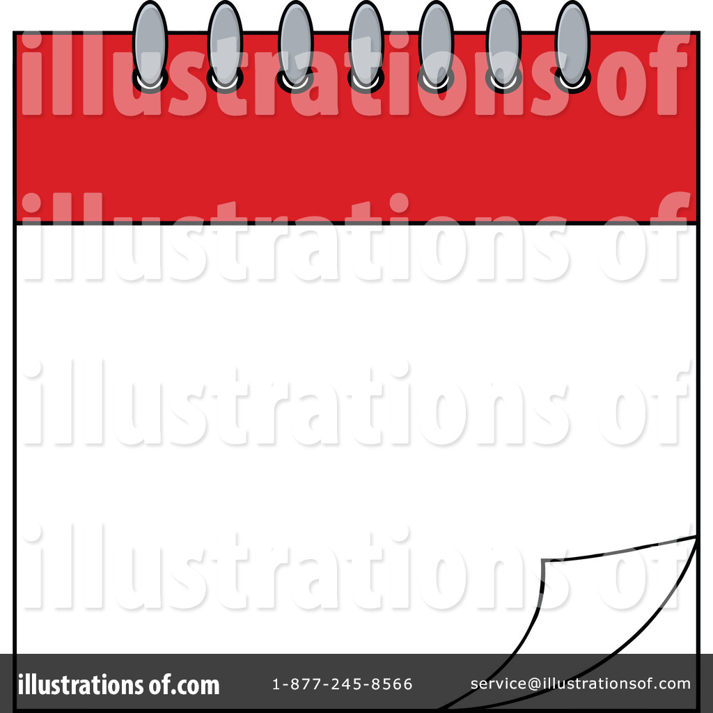 Calendar Clipart #1218759 - Illustration by Hit Toon