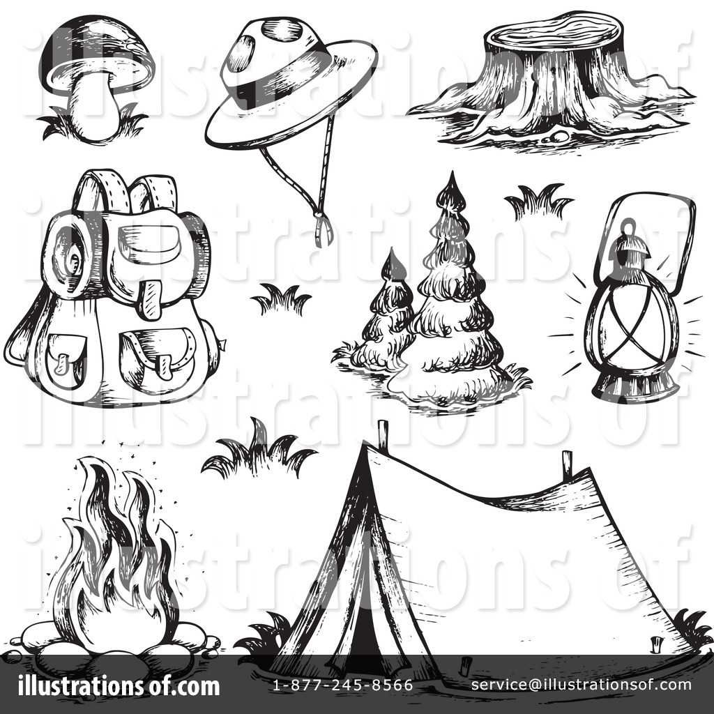 Free Camping Clipart