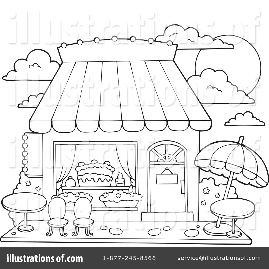 candy shop clipart 1100788 illustration by visekart