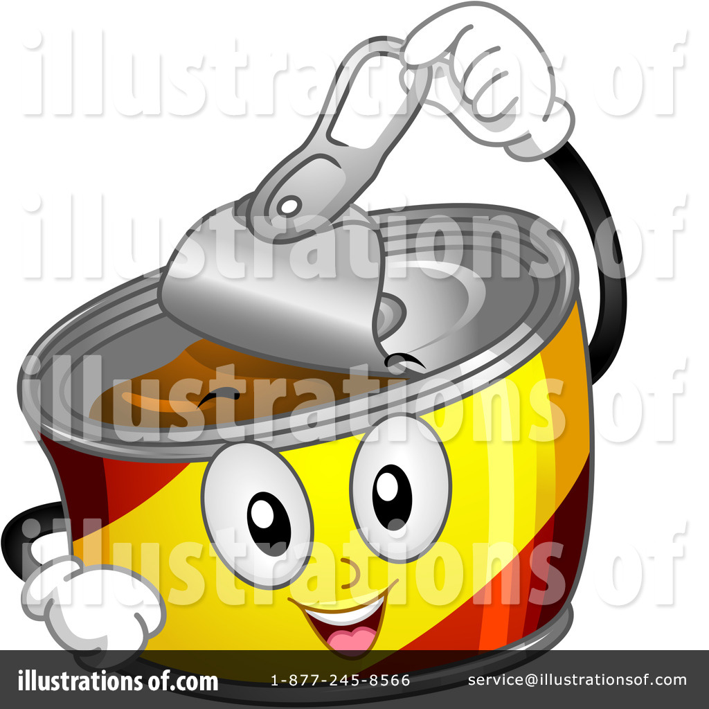 Canned Food Clipart #1104226 - Illustration by BNP Design Studio