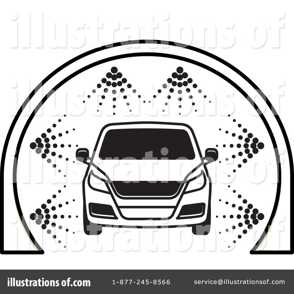 Car Wash Clipart #1242546 - Illustration by Lal Perera