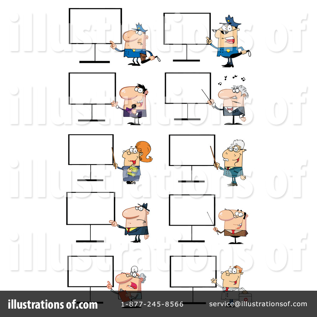 Career Clipart #1068430 - Illustration by Hit Toon