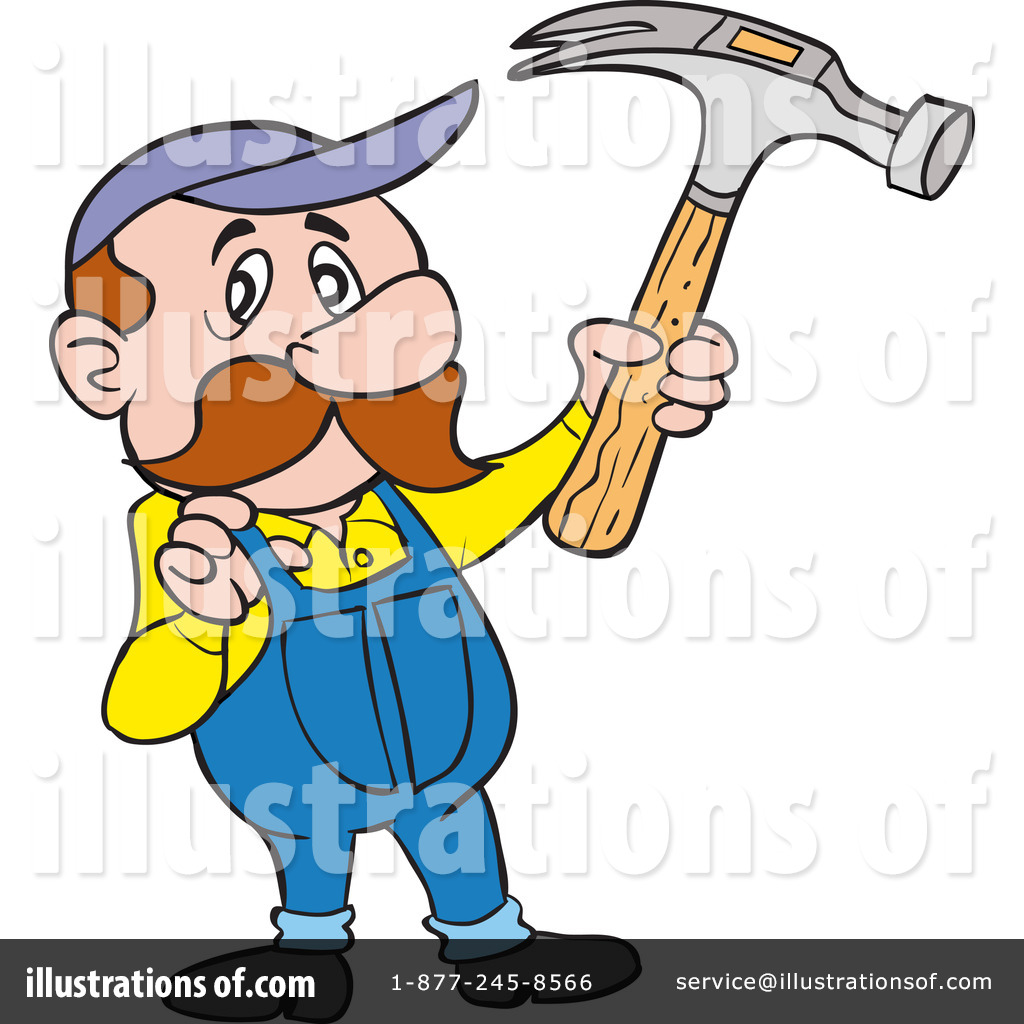 Clip Art Carpenter Clipart carpenter clipart 1219159 illustration by lafftoon royalty free rf lafftoon