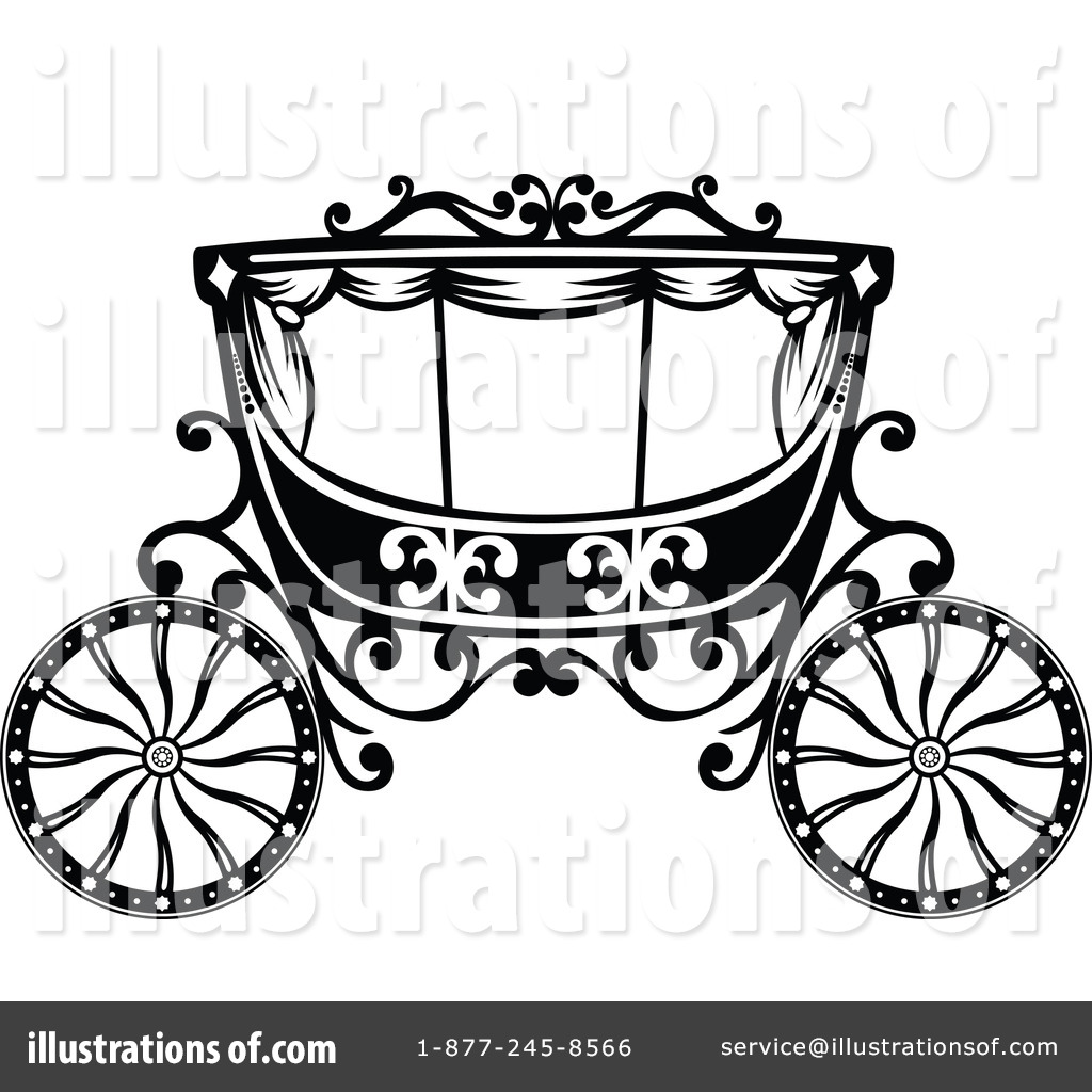 carriage clipart 1116363 illustration by vector tradition sm rh illustrationsof com carriage clip art free princess carriage clipart