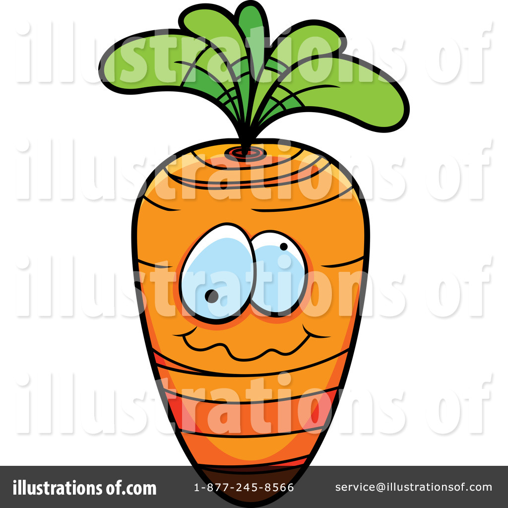 Carrot Clipart #218527 - Illustration by Cory Thoman