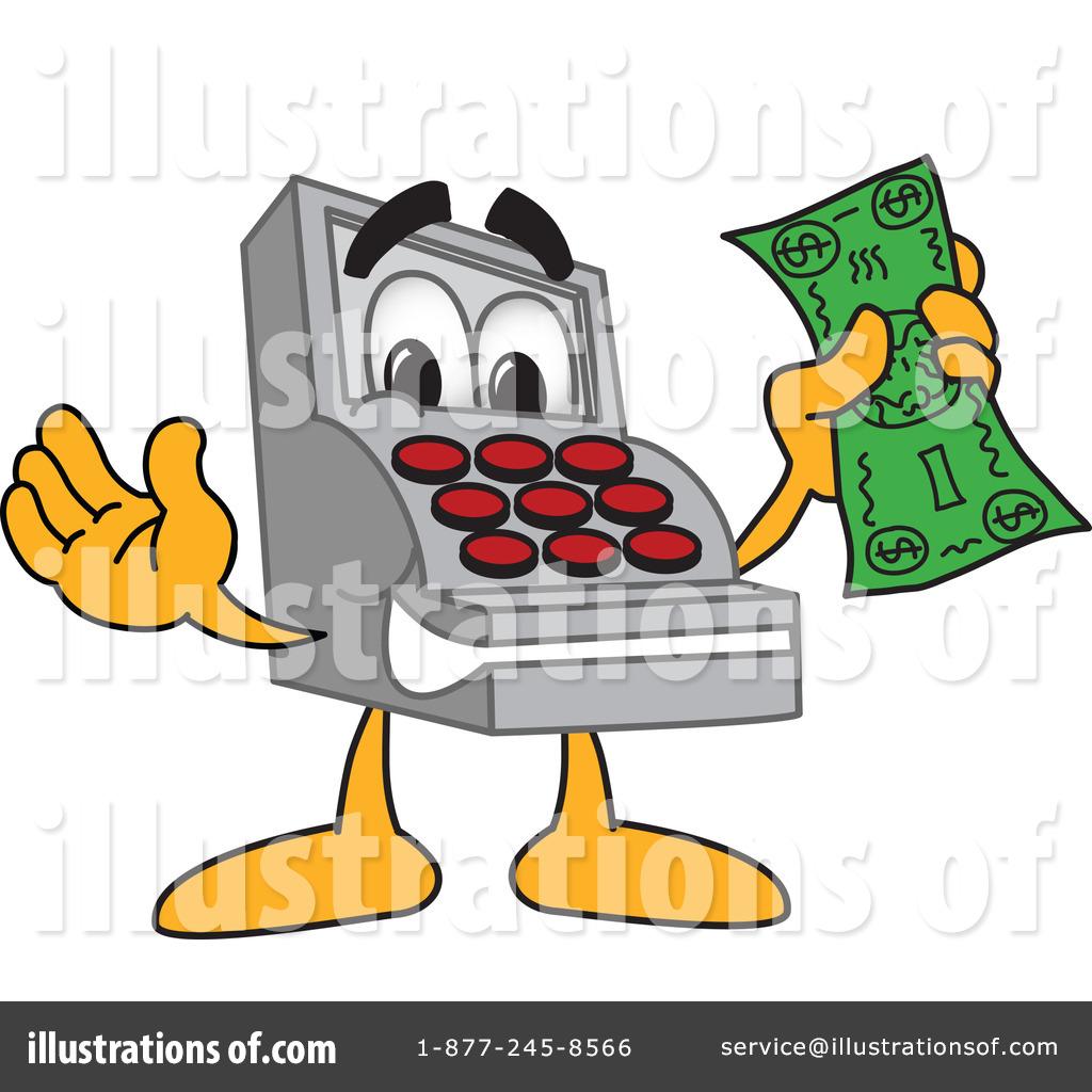 Cash Register Clipart #1059234 - Illustration by Toons4Biz