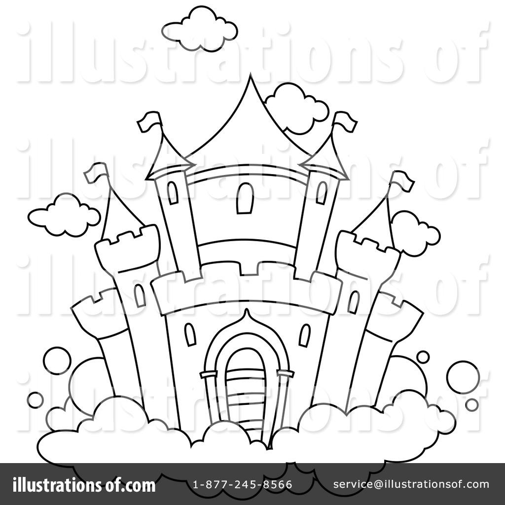 castle clipart #1049865 - illustrationbnp design studio