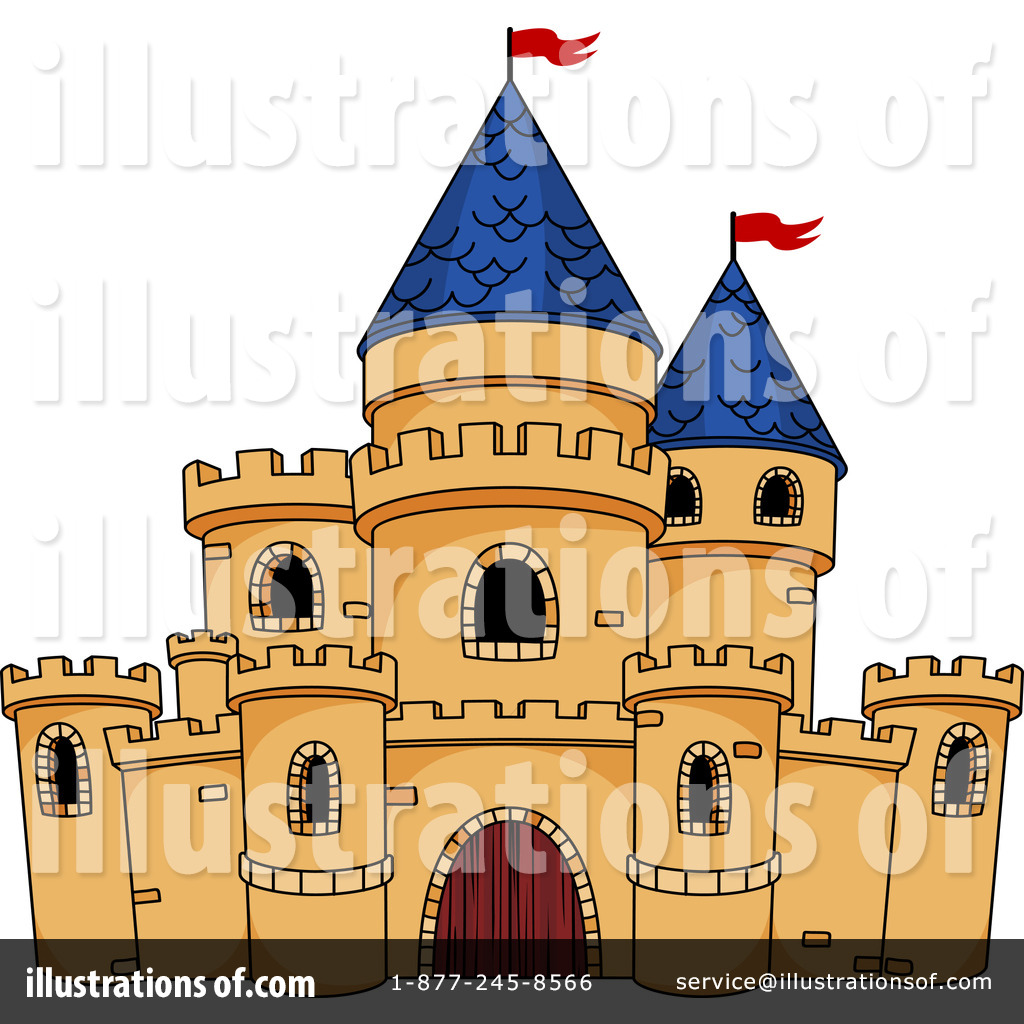 Castle Clipart #1229439 - Illustration by Vector Tradition SM