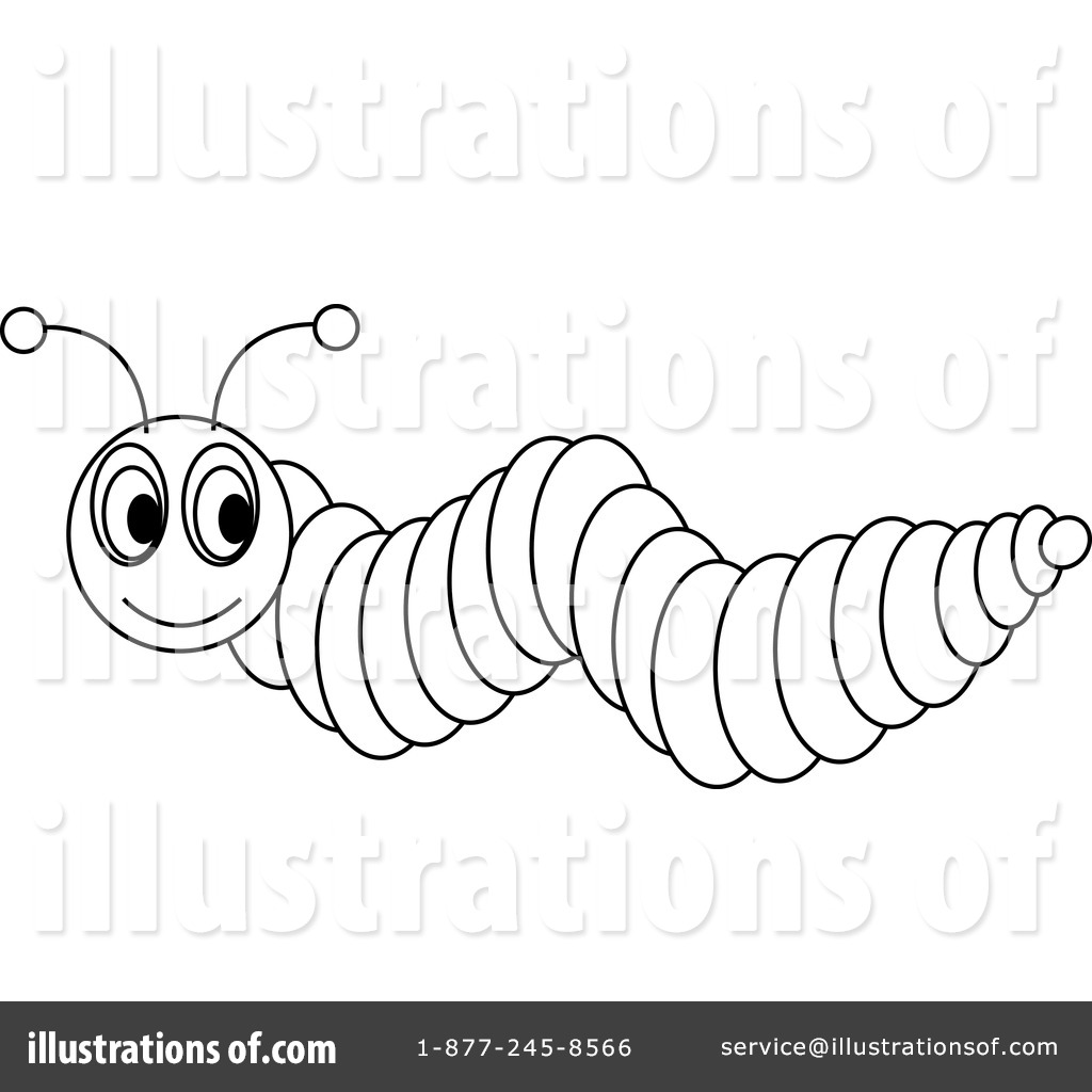 Caterpillar Clipart 97214 Illustration By Pams Clipart