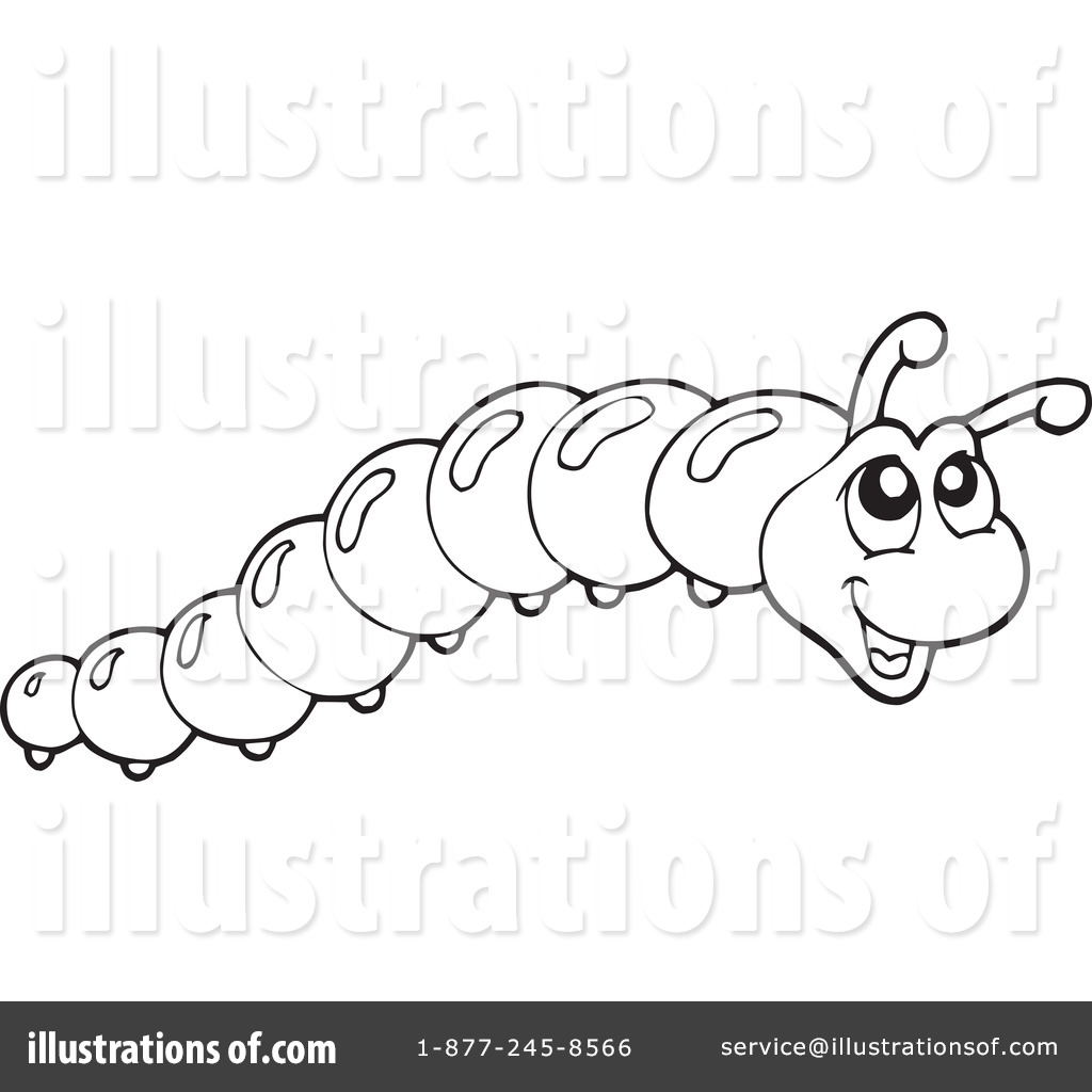 Caterpillar Clipart 231360 Illustration By Visekart